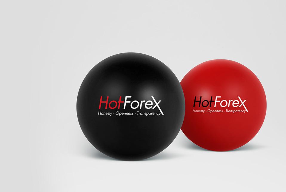 HotForex stress ball